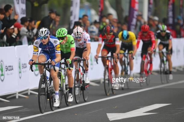 1st TDF Shanghai Criterium 2017 Christopher FROOME Yellow Leader Jersey / Edvald BOASSON HAGEN / Greg VAN AVERMAET / Alberto CONTADOR / Petr VAKOC /...