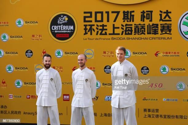 1st TDF Shanghai Criterium 2017 / Media Day Team Sunweb / Nikias ARNDT / Simon GESCHKE / Johannes FROHLINGER / TDF / Shanghai Criterium /