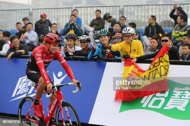 1st TDF Shanghai Criterium 2017 Start / Alberto CONTADOR / Fans / Shanghai Shanghai / TDF / Shanghai Criterium /