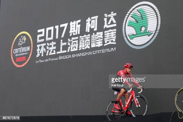 1st TDF Shanghai Criterium 2017 Start / Alberto CONTADOR / Shanghai Shanghai / TDF / Shanghai Criterium /