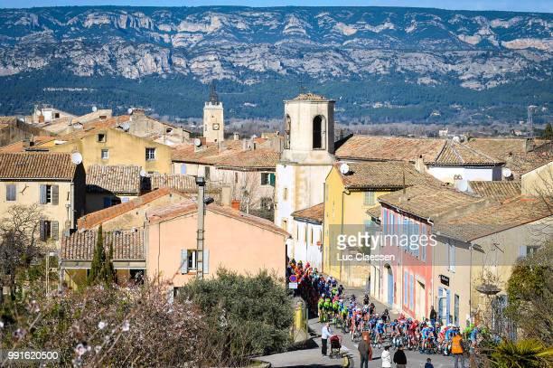1St Tour De La Provence 2016, Stage 2Illustration Illustratie Landscape Paysage Landschap Peleton Peloton Village Ville Stad, Miramas-Istres / Etape...