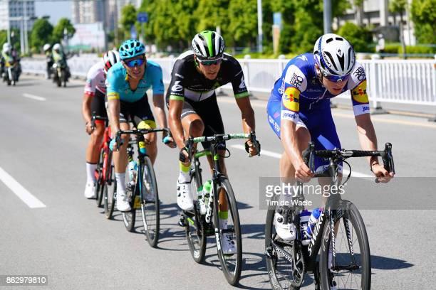 1st Tour of Guangxi 2017 / Stage 1 Remi CAVAGNA / Nick DOUGALL / Andrei GRIVKO / Beihai Beihai / Gree Tour of Guangxi / TOG /