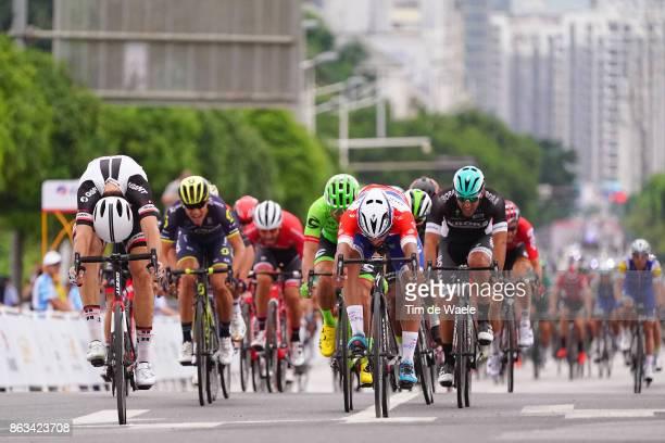 1st Tour of Guangxi 2017 / Stage 2 Arrival / Sprint / Fernando GAVIRIA Red Leader Jersey / Max WALSCHEID / Matteo PELUCCHI / Wouter WIPPERT / Magnus...
