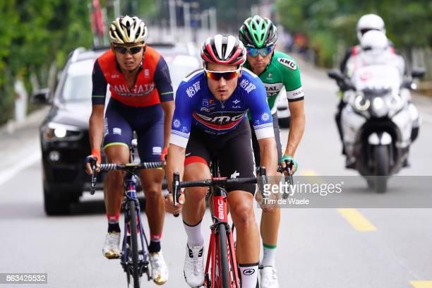 1st Tour of Guangxi 2017 / Stage 2 Silvan DILLIER Blue Sprint Jersey / Jonathan LASTRA / Meiyin WANG / Qinzhou Nanning 132m / Gree Tour of Guangxi /...