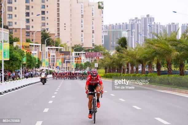 1st Tour of Guangxi 2017 / Stage 2 Thomas DE GENDT / Peloton / Qinzhou Nanning 132m / Gree Tour of Guangxi / TOG /