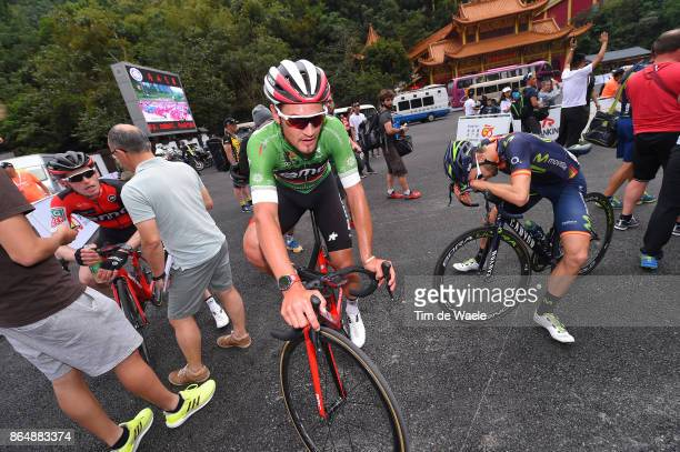 1st Tour of Guangxi 2017 / Stage 4 Arrival / Silvan DILLIER Green Mountain Jersey / Jesus HERRADA / Nanning Mashan Nongla Scenic Area 472m / Gree...