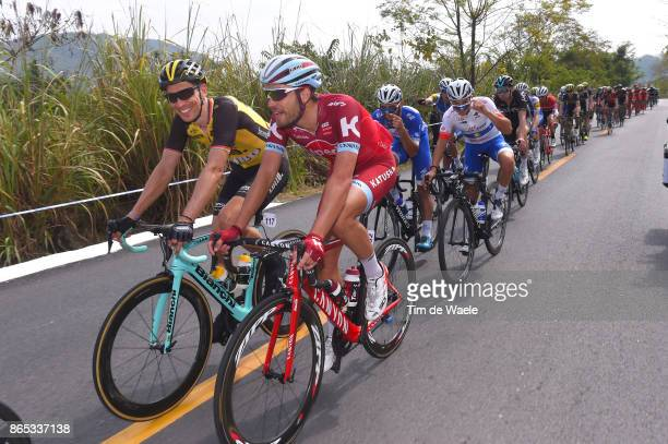1st Tour of Guangxi 2017 / Stage 5 Rick ZABEL / Robert WAGNER / Julian ALAPHILIPPE White Best YOung Rider Jersey / Fernando GAVIRIA Blue Mountain...