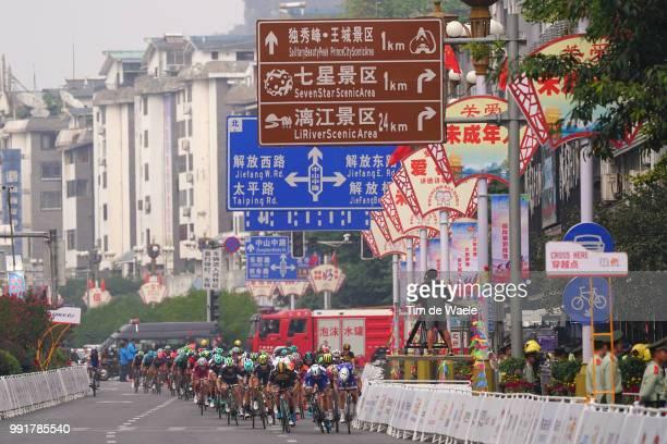 1St Tour Of Guangxi 2017 Stage 6Arrival Sprint Andrea Guardini / Dylan Groenewegen / Fernando Gaviria / Niccolo Bonifazio / Max Walscheid / Guilin...
