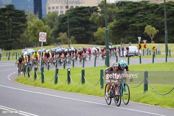 1st Toward Zero Race Melbourne / Cadel Evans Albert Park GP / Women Emma POOLEY / AnnSophie DUYCK / Albert Park F1 GP Circuit Albert Park F1 GP...