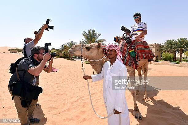 1th Abu Dhabi Tour 2015 / Stage 1 SAGAN Peter WC Jersey/ Camel/ Qasr Al Sarab Madinat Zayed / The Adnoc Stage Etape Rit / Ride To Abu Dhabi /©Tim De...