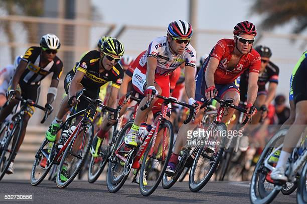 1th Abu Dhabi Tour 2015 / Stage 4 GUARNIERI Jacopo / Yas Marina Circuit Yas Marina Circuit / The Yas Stage Etape Rit / Ride To Abu Dhabi /©Tim De...