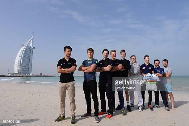 1th Tour of Dubai 2014 / Press Conference Ji CHENG / Peter SAGAN / Fabian CANCELLARA / Marcel KITTEL / Tylor PHINNEY / Rui COSTA / Tony MARTIN /...