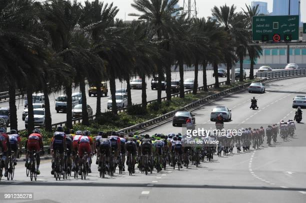 1Th Tour Of Dubai 2014 Stage 4Illustration Illustratie Peleton Peloton Dubai Burj Khalifa 8298M / The Old Dubai Stage Ronde/ Tim De Waele