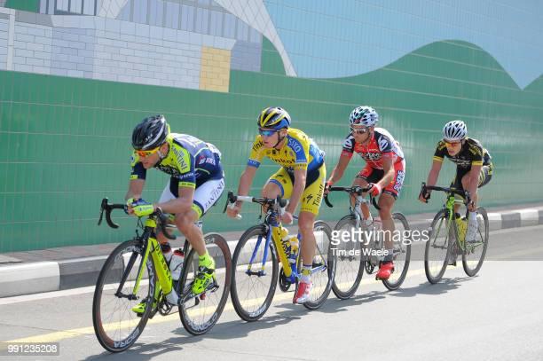 1Th Tour Of Dubai 2014 Stage 4Mccarthy Jay / De Negri Pier Paolo / Mancebo Francisco / Dubai Burj Khalifa 8298M / The Old Dubai Stage Ronde/ Tim De...