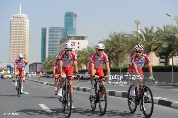 1Th Tour Of Dubai 2014 Stage 4Vicioso Arcos Angel / Vladimir Gusev / Losada Alguacil Alberto / Dubai Burj Khalifa 8298M / The Old Dubai Stage Ronde/...