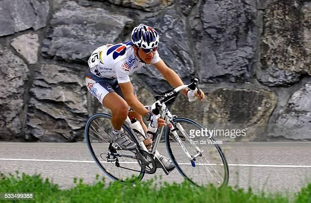Cycling, 2004 Tour of Romandie. Francis Mourey during stage 4. Cyclisme, Tour de Romandie 2004. Francis Mourey dans la quatrième étape.