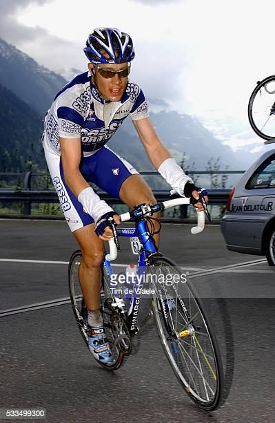 Cycling, 2004 Tour of Romandie. Tom Danielson during stage 3. Cyclisme, Tour de Romandie 2004. Tom Danielson dans la troisième étape.