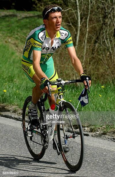 Cycling, 2004 Tour of Romandie. Tyler Hamilton during stage 3. Cyclisme, Tour de Romandie 2004. Tyler Hamilton dans la troisième étape.