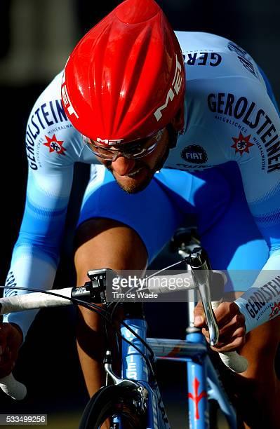 Cycling, 2004 Tour of Romandie. Volker Ordowski during the prologue. Cyclisme, Tour de Romandie 2004. Volker Ordowski dans le prologue.