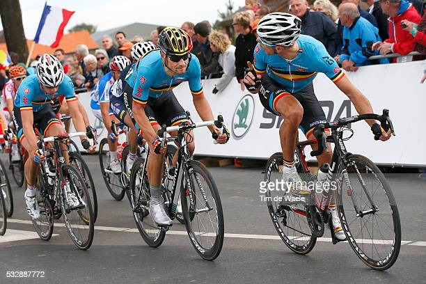 Road World Championships / Elite Men Tom BOONEN / Philippe GILBERT / Maastricht - Valkenburg / Hommes Mannen / Championat du Monde Route...