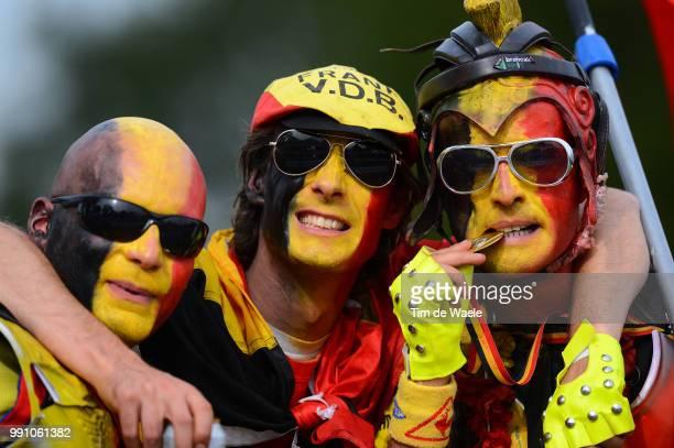 Road World Championships, Junior Women Illustration Illustratie, Belgian Fans Supporters, Valkenburg - Valkenburg / Femmes Vrouwen, Championat Du...