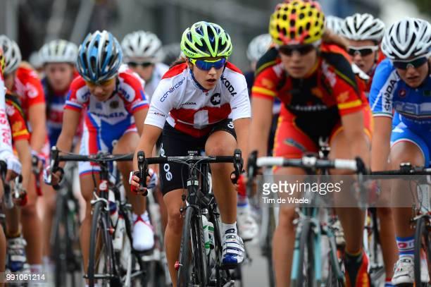Road World Championships, Junior Women Ramona Forchini / Valkenburg - Valkenburg / Femmes Vrouwen, Championat Du Monde Route Wereldkampioenschap Weg,...