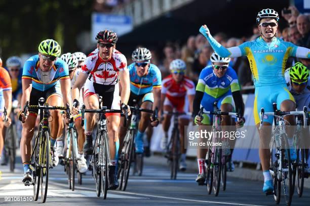 Road World Championships, Men Under -23 Arrival Sprint, Tom Van Asbroeck / Alexey Lutsenko /Valkenburg - Valkenburg / Hommes Mannen, Championat Du...