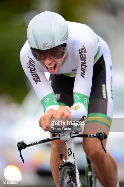 Road World Championships, Tt Men -23 Damien Howson / Landgraaf - Valkenburg / Time Trial Contre La Montre Tijdrit Hommes Mannen, Championat Du Monde...