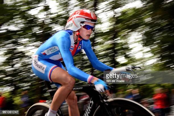 Road World Championships, Tt Women Elite Martina Sablikova / Eijsden - Valkenburg / Time Trial Women, Contre La Montre Femmes Tijdrit Vrouwen,...
