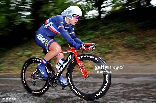 Road World Championships / TT Women Junoirs Manon BOURDIAUX / Eijsden - Valkenburg / Time Trial Women / Contre la Montre Femmes Tijdrit / Vrouwen /...