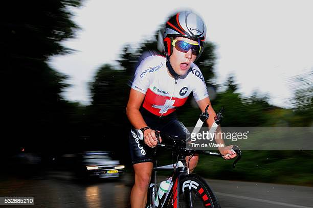 Road World Championships / TT Women Junoirs Ramona FORCHINI / Eijsden - Valkenburg / Time Trial Women / Contre la Montre Femmes Tijdrit / Vrouwen /...
