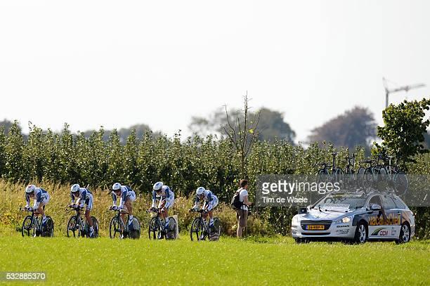 Road World Championships / TTT Men Elite Team Vacansoleil DCM / Sittard - Valkenburg / Team Time Trial Men / Contre la Montre Equipes Hommes /...
