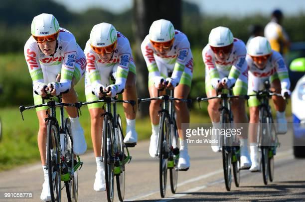 Road World Championships, Ttt Women Elite Team Skil Argos / Sittard - Valkenburg / Team Time Trial Women, Contre La Montre Equipes Femmes,...