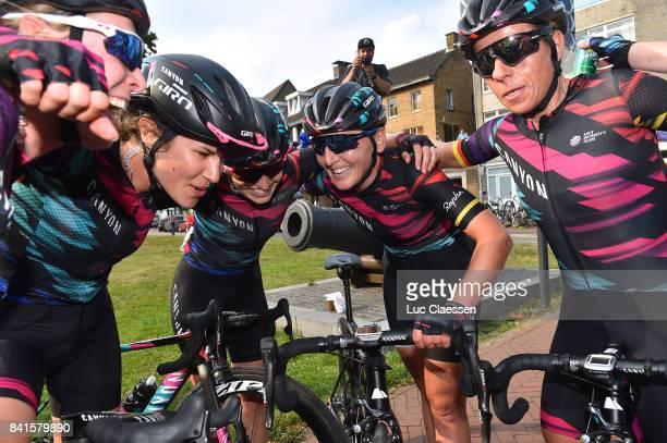 20th Boels Rental Ladies Tour / Stage 4 Elena CECCHINI / Alexis RYAN / Lisa BRENNAUER / Trixi WORRACK / Celebration / Gennep Weert / Women / BRL /