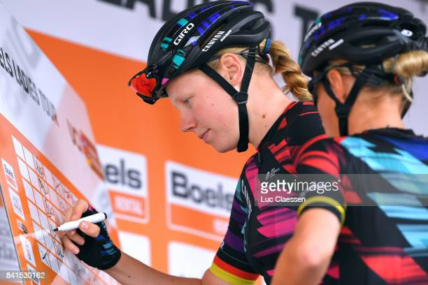 20th Boels Rental Ladies Tour / Stage 4 Start / Alexis RYAN / Gennep Weert / Women / BRL /