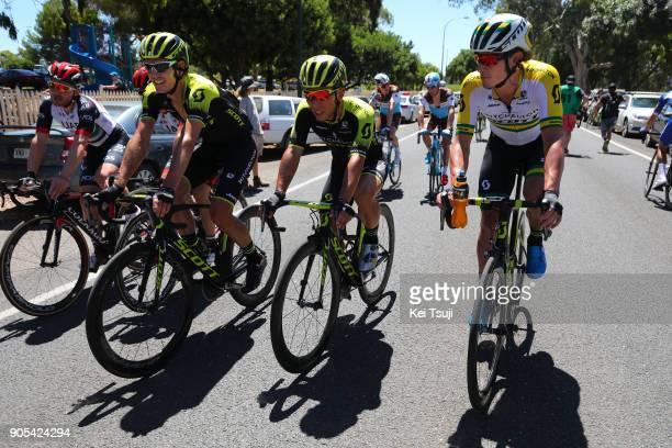 20th Santos Tour Down Under 2018 / Stage 1 Arrival / Caleb EWAN / Daryl IMPEY / Alexander EDMONDSON / Team MitcheltonScott / Port Adelaide Lyndoch /...