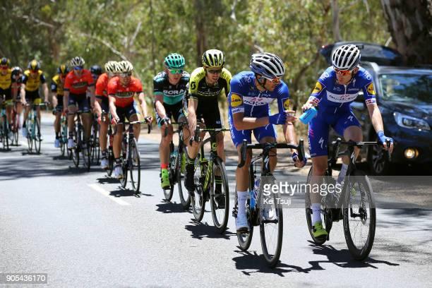 20th Santos Tour Down Under 2018 / Stage 1 Eros CAPECCHI / Michael MORKOV / Damien HOWSON / Peloton / Port Adelaide - Lyndoch / Men / TDU /