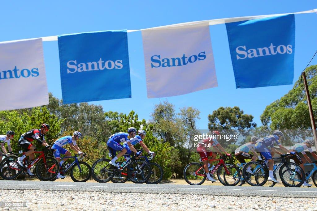20th Santos Tour Down Under 2018 / Stage 1 Fabio SABATINI (ITA)/ Jhonatan RESTREPO (COL)/ Enric MAS (ESP)/ Port Adelaide - Lyndoch (145km) / Men / TDU /