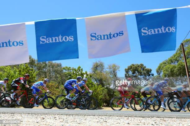 20th Santos Tour Down Under 2018 / Stage 1 Fabio SABATINI / Jhonatan RESTREPO / Enric MAS / Port Adelaide - Lyndoch / Men / TDU /
