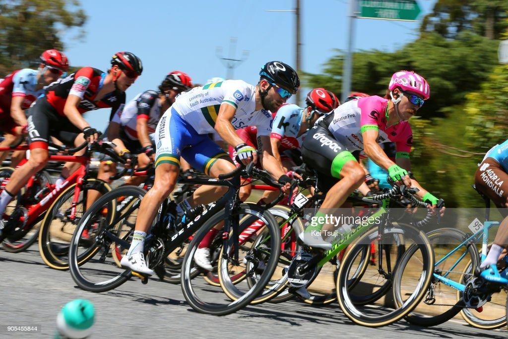 20th Santos Tour Down Under 2018 / Stage 1 Nathan EARLE (AUS)/ Mitchell DOCKER (AUS)/ Port Adelaide - Lyndoch (145km) / Men / TDU /