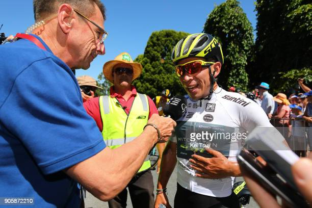 20th Santos Tour Down Under 2018 / Stage 2 Arrival / Caleb EWAN White Best Young Rider Jersey / King William Road Unley Mount Barker Road Stirling...