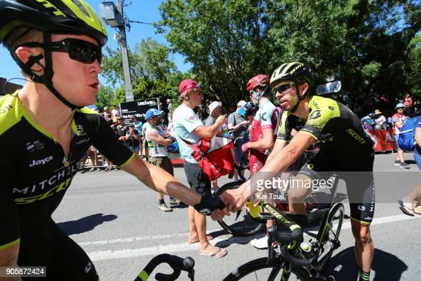 20th Santos Tour Down Under 2018 / Stage 2 Arrival / Cameron MEYER / Damien HOWSON / Celebration / King William Road Unley Mount Barker Road Stirling...
