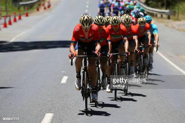 20th Santos Tour Down Under 2018 / Stage 2 Manuele BOARO / Ramunas NAVARDAUSKAS / Team Bahrain Merida Pro Cycling Team / King William Road Unley...