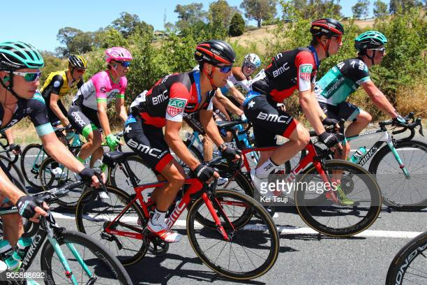 20th Santos Tour Down Under 2018 / Stage 2 Richie PORTE / Tom BOHLI / King William Road Unley Mount Barker Road Stirling 400m / Men / TDU /