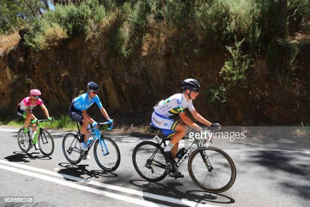 20th Santos Tour Down Under 2018 / Stage 2 Scott BOWDEN / William CLARKE / Jaime CASTRILLO / King William Road Unley Mount Barker Road Stirling 400m...