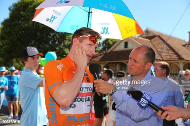 20th Santos Tour Down Under 2018 / Stage 2 Start / Andre GREIPEL Orange Leader Jersey / King William Road Unley Mount Barker Road Stirling 400m / Men...
