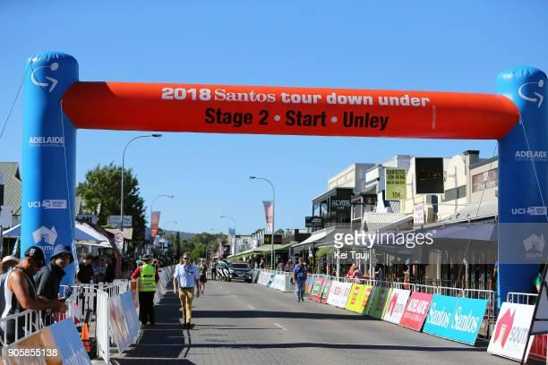 20th Santos Tour Down Under 2018 / Stage 2 Start / King William Road Unley Mount Barker Road Stirling 400m / Men / TDU /