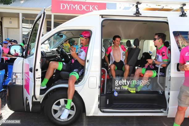 20th Santos Tour Down Under 2018 / Stage 2 Start / Mitchell DOCKER / Daniel MORENO / Simon CLARKE / King William Road Unley Mount Barker Road...