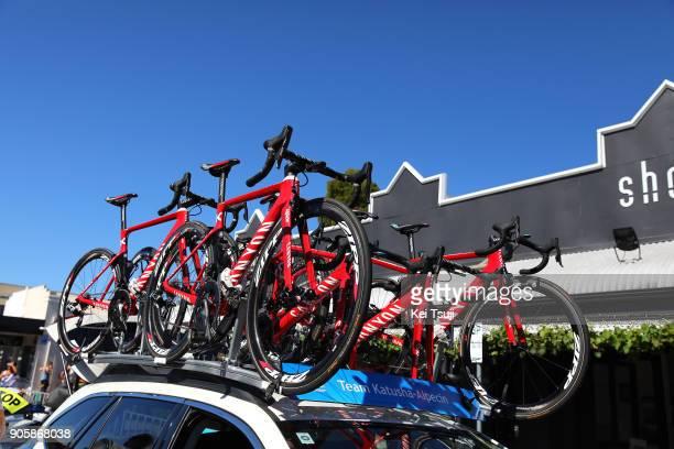 20th Santos Tour Down Under 2018 / Stage 2 Start / Team Katusha Alpecin / Canyon Bike / King William Road Unley Mount Barker Road Stirling 400m / Men...