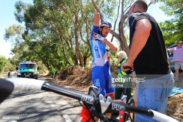 20th Santos Tour Down Under 2018 / Stage 2 Steve MORABITO / Crash / Injury / Dislocated shoulder / King William Road Unley Mount Barker Road Stirling...